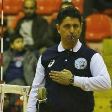 مجتبی بیداریان در قهرمانی باشگاههای مردان آسیا قضاوت می کند